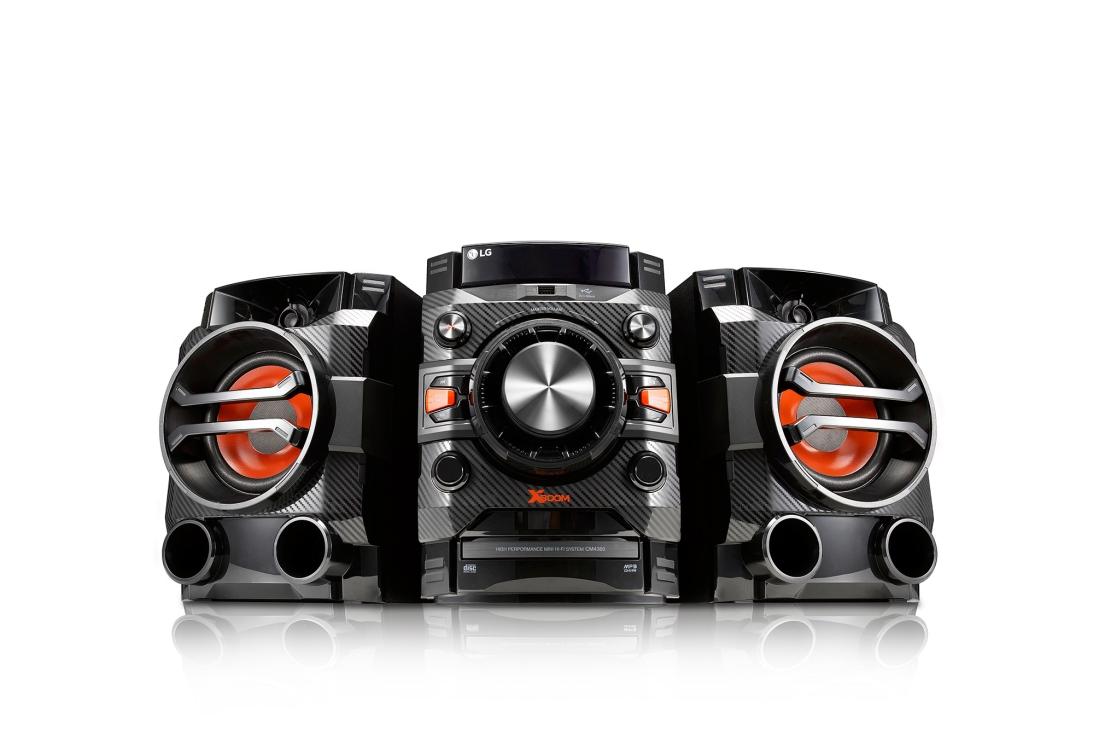 EQ. SONIDO LG CM4360 * LG