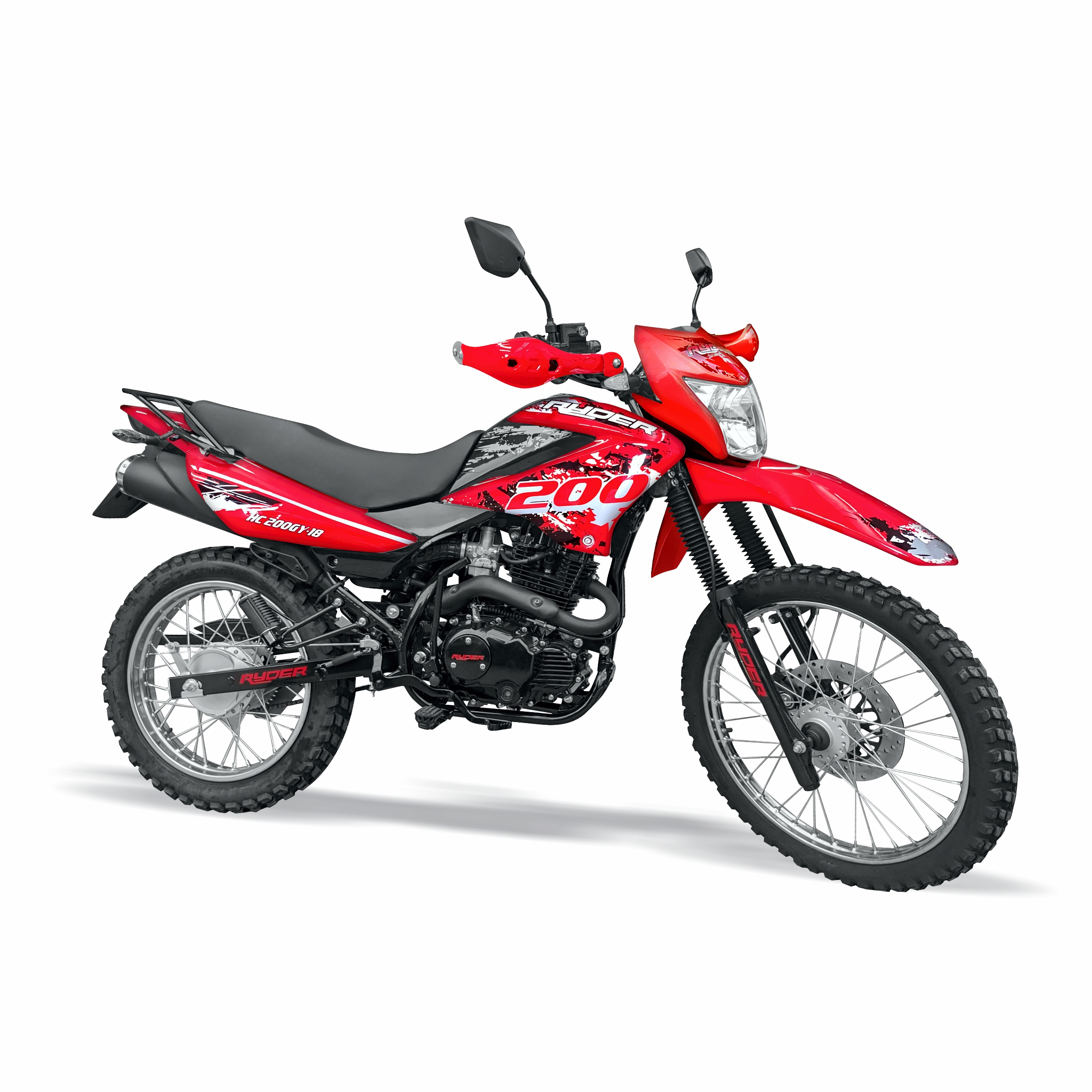 MOTO 200 RYDER HC200GY-18